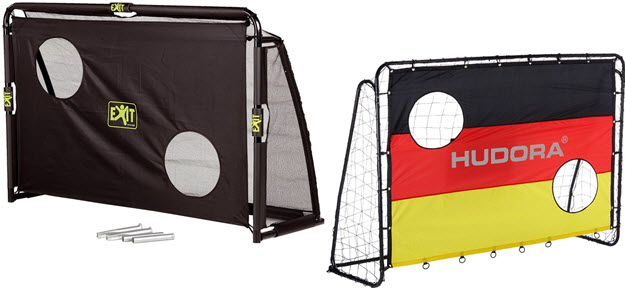 kinder fu balltore f r den garten im test trampolin. Black Bedroom Furniture Sets. Home Design Ideas