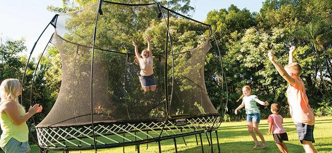 Springfree Trampolin 300cm reine Sprungfläche