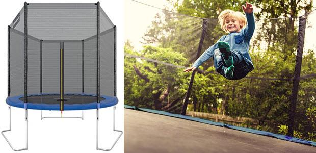 Ultrasport Gartentrampolin Jumper 180 251 305 366 430cm