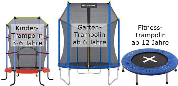 Ultrasport Kinder Garten und Fitness Trampoline