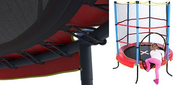 kinder trampolin f rs kinderzimmer test welches ist gut trampolin. Black Bedroom Furniture Sets. Home Design Ideas