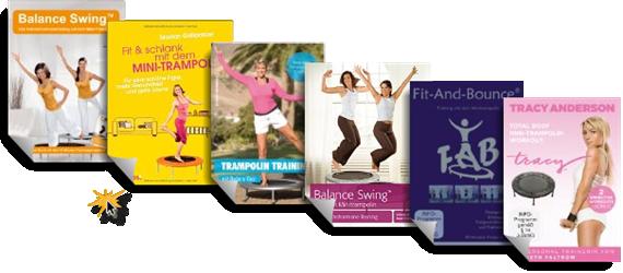 Trampolin Übungen Video DVDs